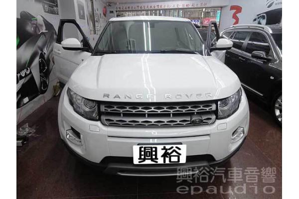 【Land Rover】路華EVOQUE 安裝 導航系統