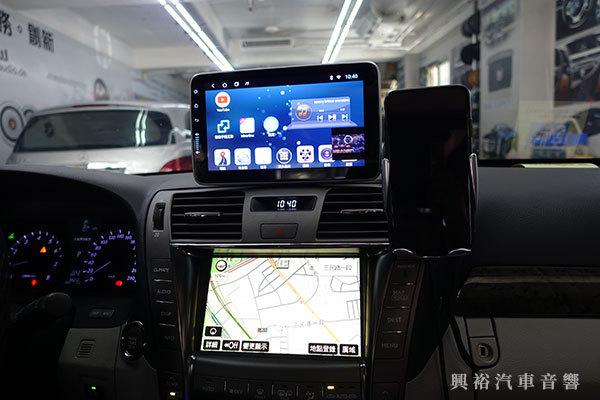 【LEXUS 淩志】LS460 安裝 SMART 9吋通用型安卓多媒體分體機