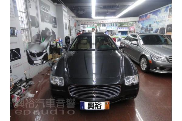 【Maserati】瑪莎拉蒂 改裝 1DIN主機 | 數位 | 導航 | 後視鏡螢幕 | 倒車