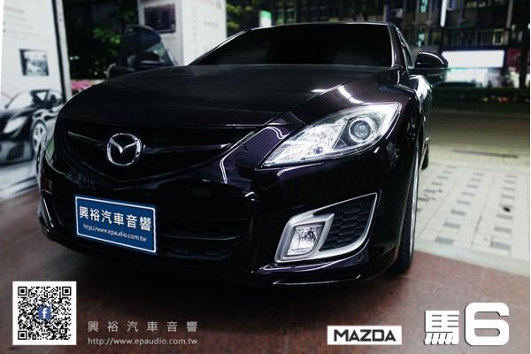 【MAZDA 馬6】安裝 專款馬6安卓主機