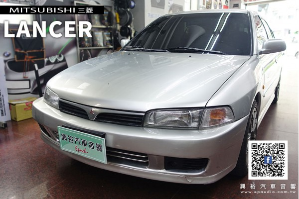 【MITSUBISHI 三菱】1998款LANCER 安裝 Pioneer先鋒 DMH-ZF9350BT 9吋 可調式藍芽觸控螢幕主機