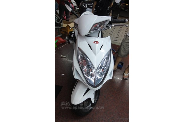 【摩托車】光陽RACING 安裝 喇叭 | 擴大機