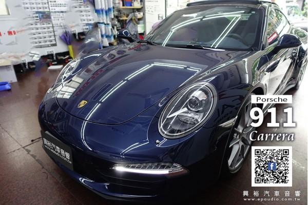 【Porsche 保時捷】911 Carrera 安裝 Cayenne/911專用8.4吋安卓主機   大吉國際數位電視   倒車鏡頭