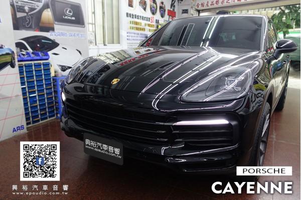 【Porsche 保時捷】Cayenne 安裝GARMIN DASHCAM 66WD 雙鏡頭行車記錄器