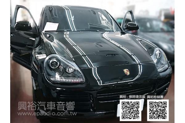 【Porsche 保時捷】Cayenne S 安裝專款安卓螢幕主機 行車記錄器