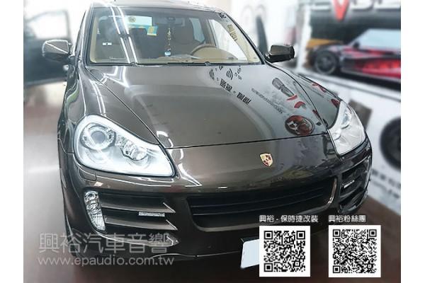 【Porsche 保時捷】Cayenne S 安裝專款安卓螢幕主機 數位 倒車鏡頭