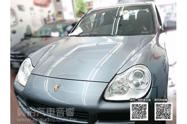 【Porsche 保時捷】Cayenne S 安裝專款螢幕主機 前後鏡頭行車記錄器 數位
