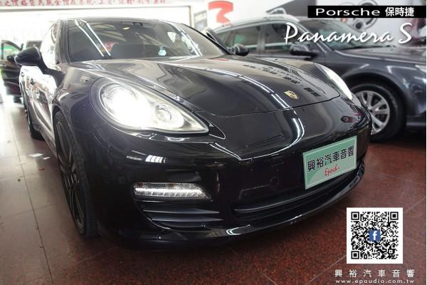 【Porsche 保時捷】Panamera S 安裝 Panamera專用9.7吋安卓多媒體主機