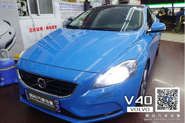 【VOLVO V40】 安裝 THINKWARE F800 PRO 前後鏡頭高畫質行車記錄器