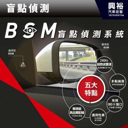【盲點偵測】BSM盲點偵測輔助系統-微波雷達偵測*專用款另計 公司貨