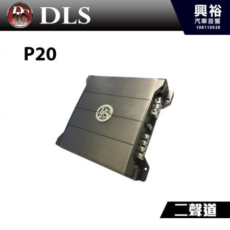 【DLS】瑞典 P20 二聲道擴大機