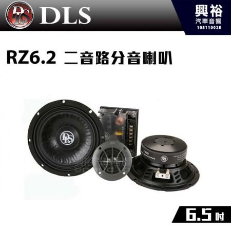 【DLS】RZ6.2 6.5吋 二音路分音喇叭*瑞典 4歐姆.